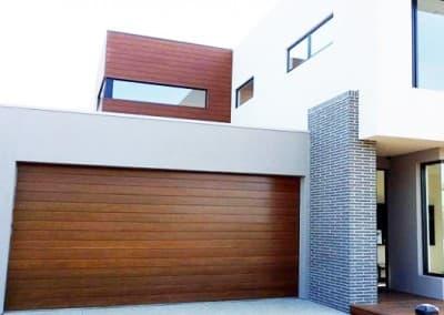 Biowood® garage door