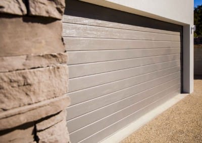 Colorbond® Garage Door - Slimline profile, Gully colour