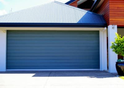 Bon Colorbond® Garage Door   Slimline Profile, Deep Ocean Colour